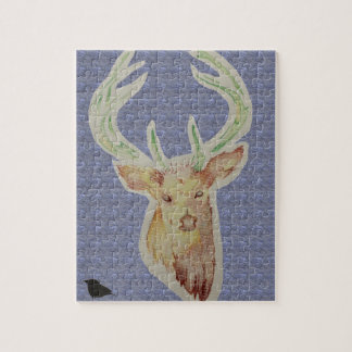 Sketched Stag Jigsaw puzzle