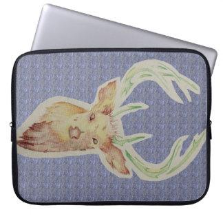 Sketched Stag Laptop Case