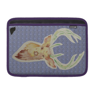 Sketched Stag Macbook Case