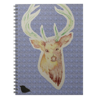 Sketched Stag Notebook