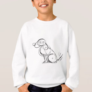 Sketchy Dog Kids' Long Sleeve Sweatshirt