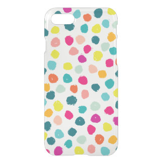 Sketchy Happy Color Dots iPhone 7 Case