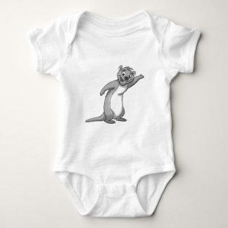 Sketchy Otter Baby Bodysuit