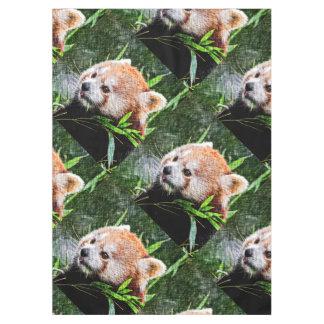 red panda tablecloth
