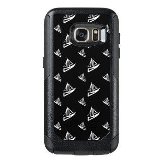Sketchy Sailboat Pattern OtterBox Samsung Galaxy S7 Case
