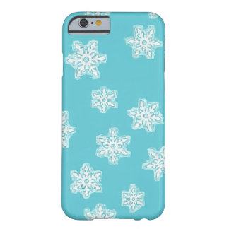 Sketchy Snowflake Barely There iPhone 6 Case