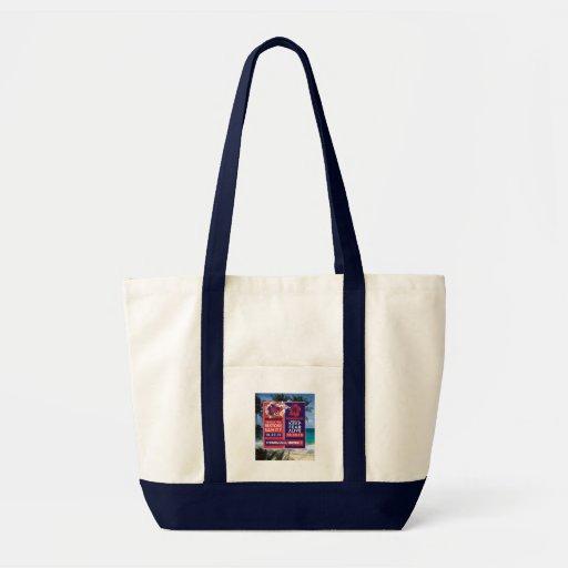 Skewered Lei Tote Bags