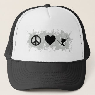 Ski 5 trucker hat