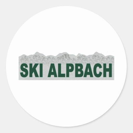 Ski Alpbach Stickers