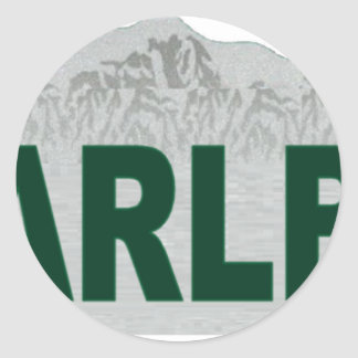 Ski Arlberg Sticker