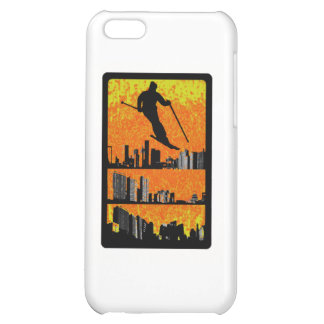 SKI AT SUNRISE iPhone 5C COVER