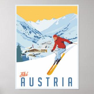 Ski posters from Zazzle