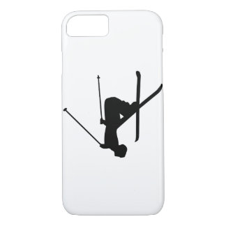 Ski Black Silhouette iPhone 8/7 Case