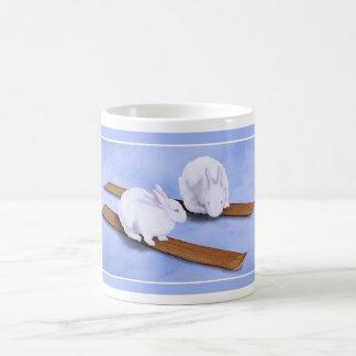 Ski Bunnies... Basic White Mug