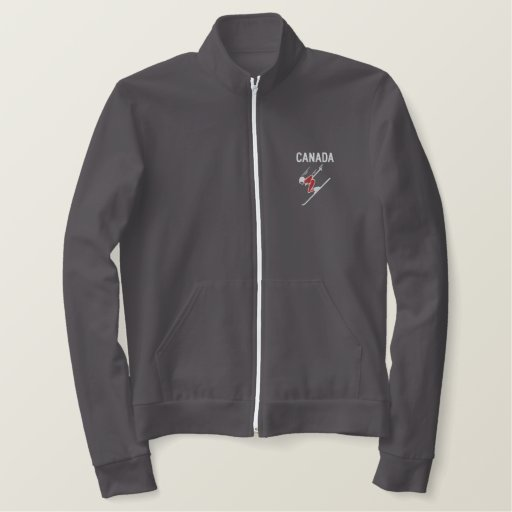 Ski Canada Custom Personalised Sports Embroidered Jacket