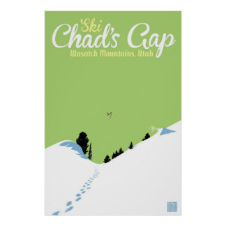 Ski Chad's Gap Poster