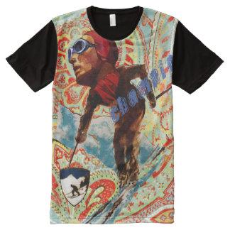ski champion All-Over print T-Shirt