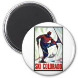 Ski Colorado Refrigerator Magnets