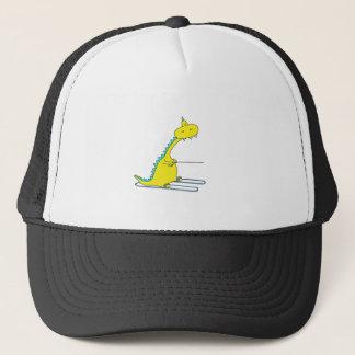 ski dino trucker hat