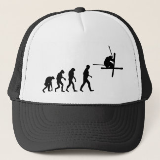 ski evolution icon trucker hat