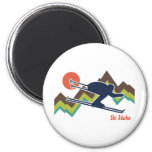 Ski Idaho Magnet