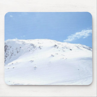 Ski In The Alps On Snow Mouse Pad