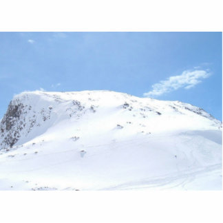 Ski In The Alps On Snow Photo Cutout
