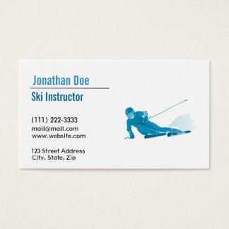 Ski Instructor Business Card