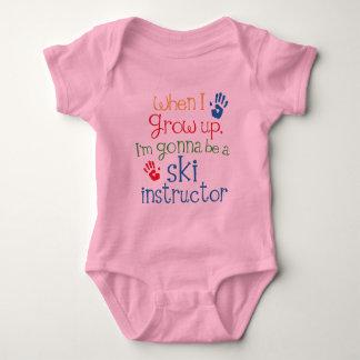 Ski Instructor (Future) Child Baby Bodysuit