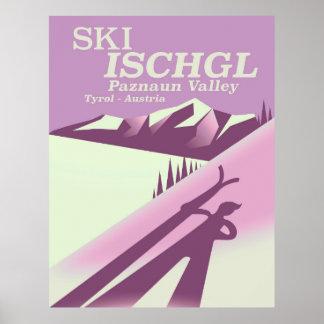 Ski Ischgl,Paznaun Valley Tyrol Poster