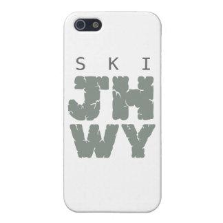 SKI Jackson hole iPhone 5 Cases