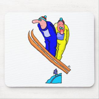 Ski Jump Mouse Pad