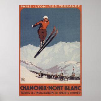 Ski Jump - PLM Olympic Promo Poster