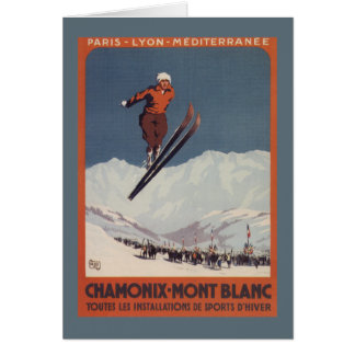 Ski Jump - PLM Olympic Promo Poster Card
