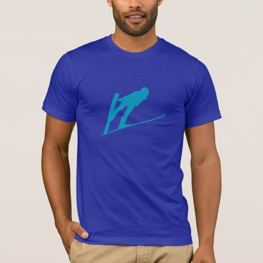Ski Jumper Silhouette T-Shirt