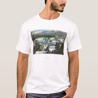 Ski Jumper Takes off from the Olympic Ski Hill T-Shirt