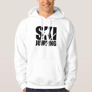 Ski jumping hoodie