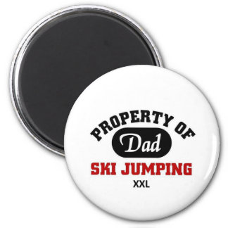 Ski Jumping Magnets