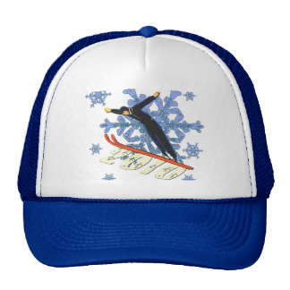 Ski jumping Ski Jumpers winter games gifts Hat