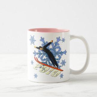 Ski jumping Ski Jumpers winter games gifts Coffee Mug