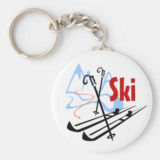 ski key ring
