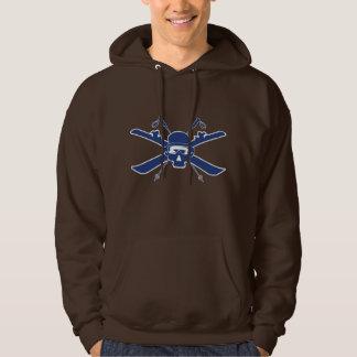 Ski kool dark chocolate hoodie