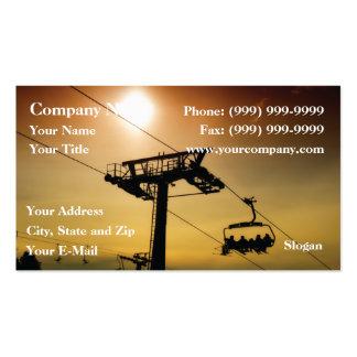 Ski Lift Business Card Templates
