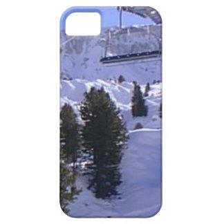 Ski lift on  the summit of  Mt Blanc range iPhone 5 Cases