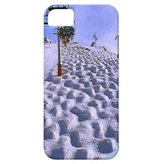Ski lift to  Mt Blanc range Case For The iPhone 5