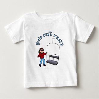 Ski Liftie Girl Baby T-Shirt