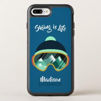 Ski Mask custom name & text phone cases