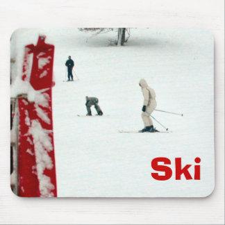 Ski Mouse Pad