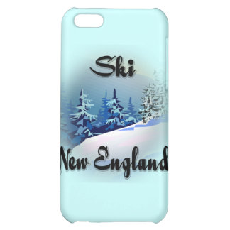 Ski New England  black iPhone 5C Cases