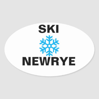 Ski Newrye sticker